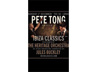 x2 tickets for Pete Tong (& Heritage Orchestra) Ibiza classics @ o2 on 01/12/16