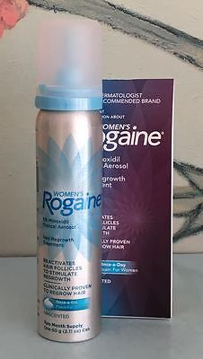 Rogaine Foam For Women 2 Month Supply Hair Regrowth Treatment EXP 2017/11 No Box
