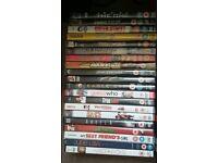 Job lot DVDs- about 90 disks