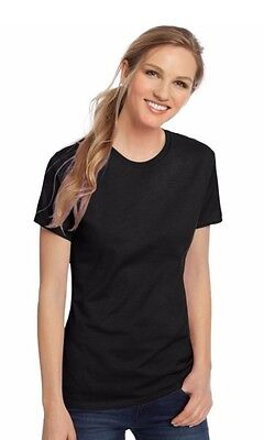 Hanes Womens Nano T Shirt 100  Cotton Short Sleeve   All Proceeds Go To Charity