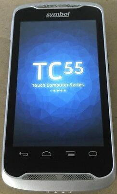 Symbol Tc55 Touchscreen Mobile Computer Barcode Scanner Hspa Nfc Tc55bh-hj11ee