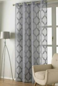 *Brand New* Moroccan Style Single Panel Eyelet Voile