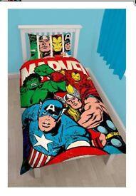 Brand New Marvel avengers Single Duvet Set