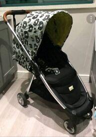 Mamas and Papas Armadillo stroller- Donna Wilson Bears