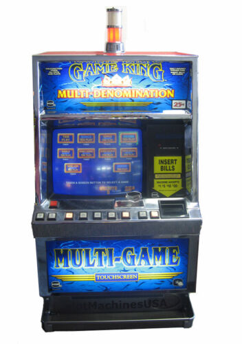 IGT GAME KING POKER SLOT 30 GAMES, NEW LCD