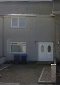 2 bedroomed unfurnished mid terrace house in Fraserburgh