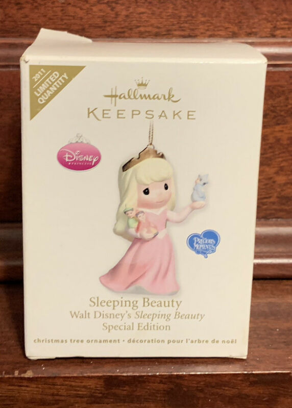 2011 Hallmark Disney Sleeping Beauty Aurora Precious Moments Keepsake Ornament