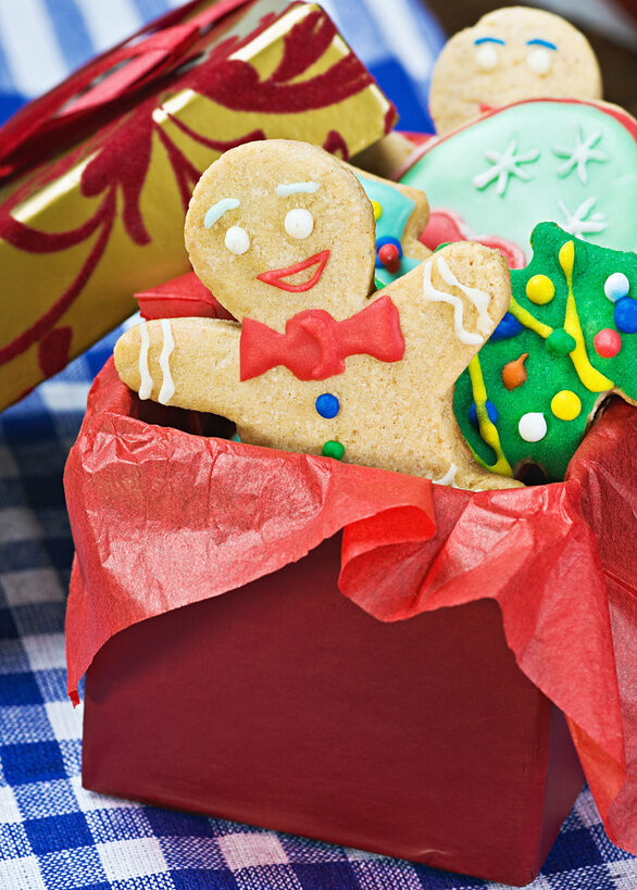 Christmas baked goods gifts