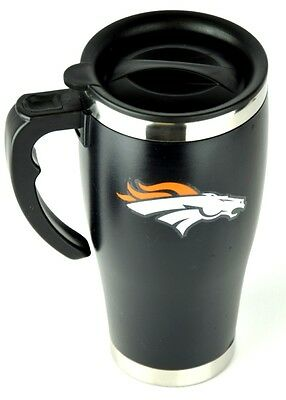 NFL Football DENVER BRONCOS Tasse Thermobecher Travel Mug Kaffeetasse Denver Broncos Travel Mug