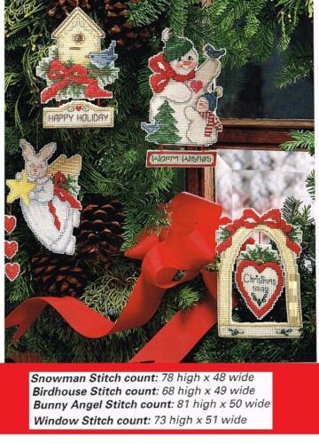 LIGHTHEARTED ORNAMENTS CROSS STITCH  PATTERN  ONLY   #955