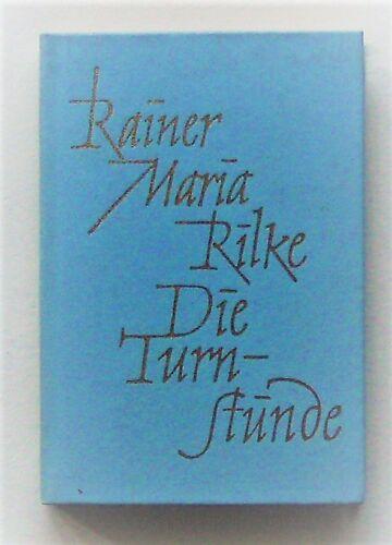 Minibuch - Rainer Maria Rilke, die Turnstunde