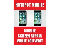 IPHONE CRACKED SCREEN REPAIR UNBEATABLE CHEAPEST OFFER!IPHONE7£45,IPHONE7+£55IPHONE6S£35,IPHONE6G£25