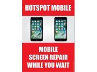 IPHONE CRACKED SCREEN REPAIR UNBEATABLE CHEAPEST OFFER!IPHONE7£40,IPHONE7+£50IPHONE6S£35,IPHONE6G£25