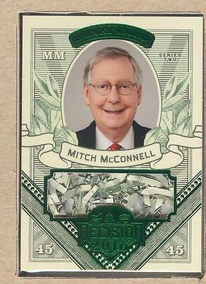 Mitch Mcconnell Mo53 2017 Decision 2016 Update Money Card Shred  Currency Green
