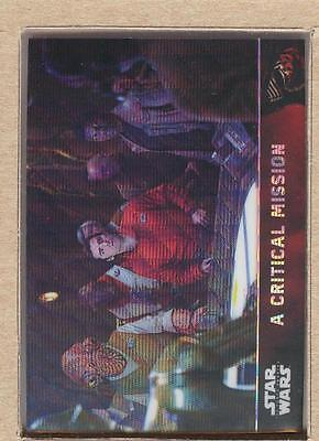 A Critical Mission 80 2016 Star Wars The Force Awakens Chrome Refractor