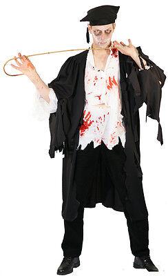 Horror Zombie Evil Lehrer Maskenkostüm SML-XXXXL (Lehrer Kostüm)