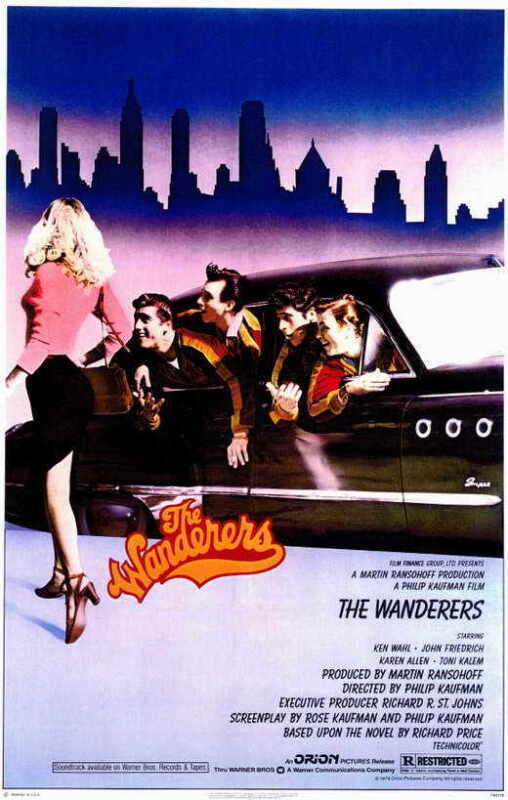 THE WANDERERS Movie POSTER 11x17 Ken Wahl John Friedrich Karen Allen Linda Manz