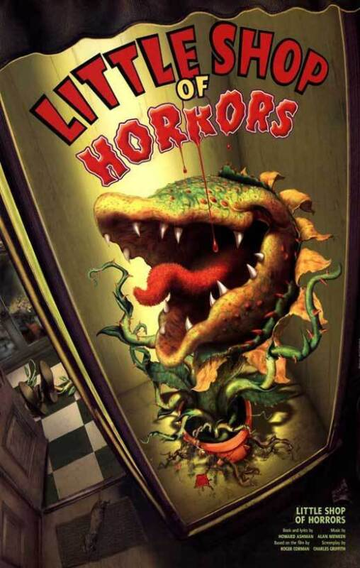 LITTLE SHOP OF HORRORS (BROADWAY) Movie POSTER 27x40