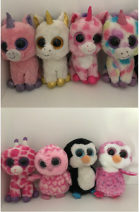 8 Beanie Boos (can be sold separately)