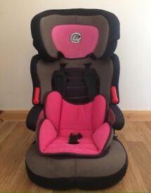 Girl's Car Seat