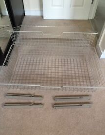 2 x Ikea baskets / drawers