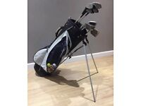 Inesis golf club set with bag and trolley