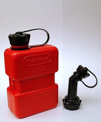FUELFRIEND-PLUS 1 Liter Benzinkanister Reservekanister + Füllrohr verschließbar