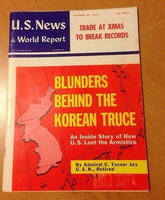 Us News   World Report  Oct  28  1955  Korean Truce Blunders