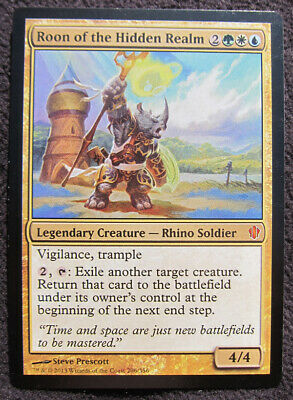MTG Roon of the Hidden Realm Legendary Creature Multi Color Commander 2013
