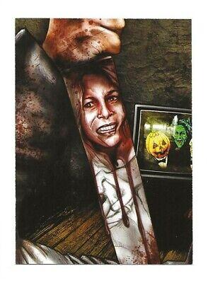 BAM! Horror HALLOWEEN Artist Select Card #750/2500