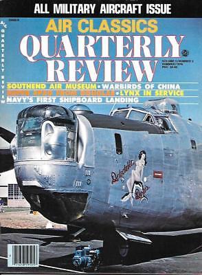 (Air Classics Quarterly Review Summ.1978 Spad Rolls Royce Spitfire Nose Art China)