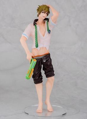 Anime Free  Iwatobi Swim Club Makoto Tachibana 1 8 Pvc Figure Toy Gift