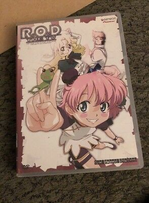 R.O.D. THE TV SERIES DVD ANIME THE PAPER SISTERS EPISODES 1-4
