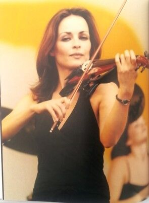 The CORRS 'violin' magazine PHOTO/Poster/clipping 11x8 inches