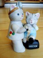 "1989 Kitty Cucumber ""ALBERT "" Figurine By SCHMID -Excellent Cond"