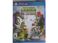 Plants V's Zombies Garden Warfare PS4