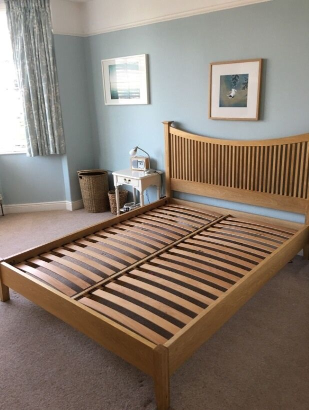 John Lewis Essence Low End Bed Oak Kingsize Rrp 163 699 In