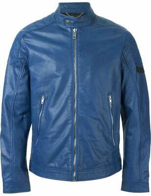 DIESEL L-MONIKE LEATHER JACKET (MEDIUM)