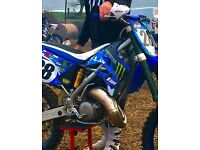 TM mx 125 motocross bike