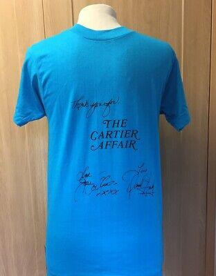 JOAN COLLINS - Rare Original T-Shirt Given To Crew of THE CARTIER AFFAIR & Photo