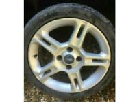 "16"" Ford Fiesta split star spoke zetec s titanium alloy wheel alloy with tyres"