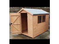 Garden sheds BUY NOW PAY LATER free delivery and fitting