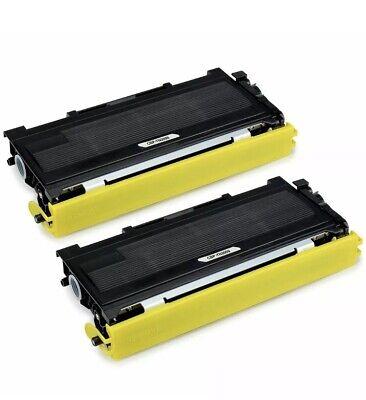 JARBO TN2000 TN-2000 Cartridge for Brother HL-2030 HL-2032 Pack of 2 Black Toner