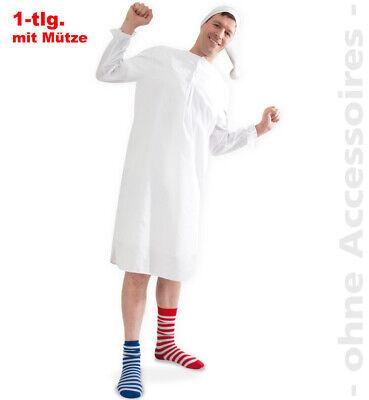 Nachthemd mit Mütze - Kostüm Schlafmütze, Hemdglunker