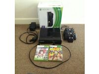 Xbox 360 comsole 250gb plus accessories