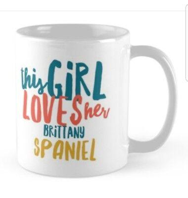BRITTANY SPANIEL MUG, Ideal gift