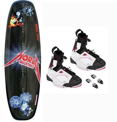 2-6-- - RONIX AUGUST WAKE BOOT JR LDS WAKEBOARD BOOT BRAND NEW!!! SIZE