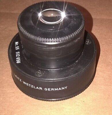 Leitz Wetzlar Laborlux 11 Microscope Condenser Nr 55. - 512656 A 0.90.