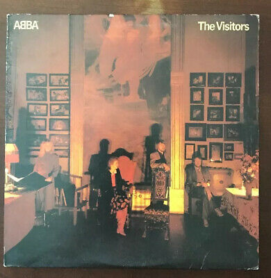 ABBA THE VISITORS VINYL LP ORIGINAL 1981 ATLANTIC RECORDS SD 19332, STEREO EX