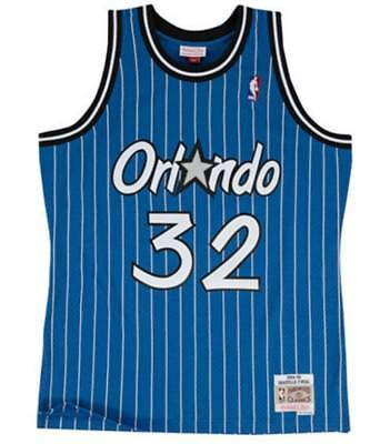 Shaquille Oneal Orlando Magic Mitchell & Ness Mesh NBA Swingman Jersey Royal